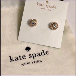 Kate Spade crystal ball stud earrings